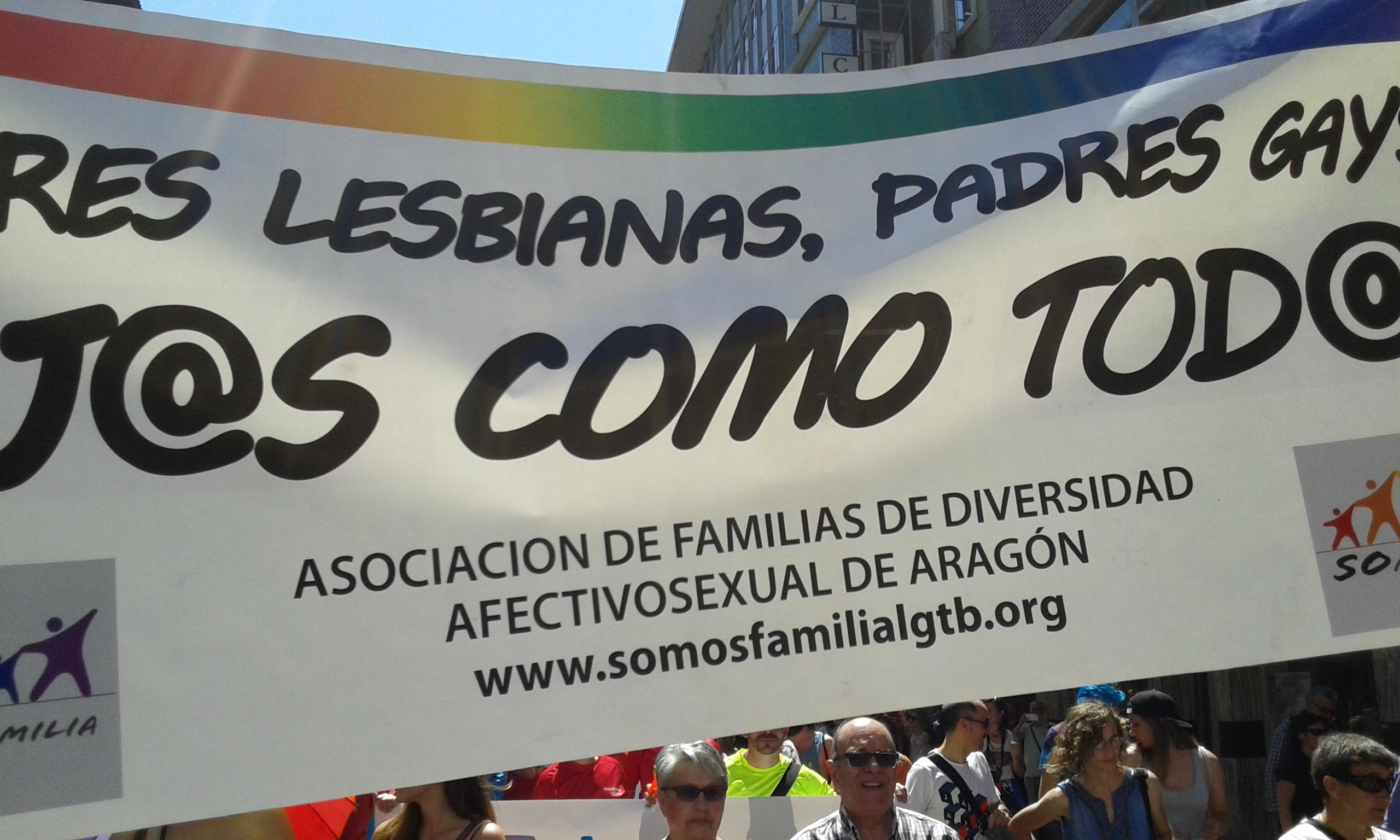 SOFA en el orgullo gay de Zaragoza 2015