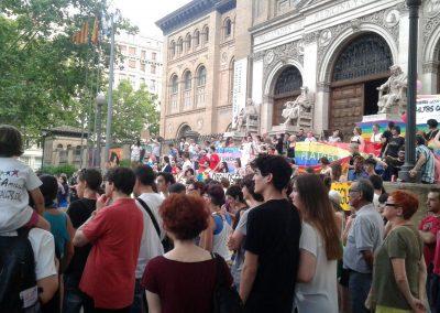 SOFA en el Orgullo 2016 Zaragoza 2