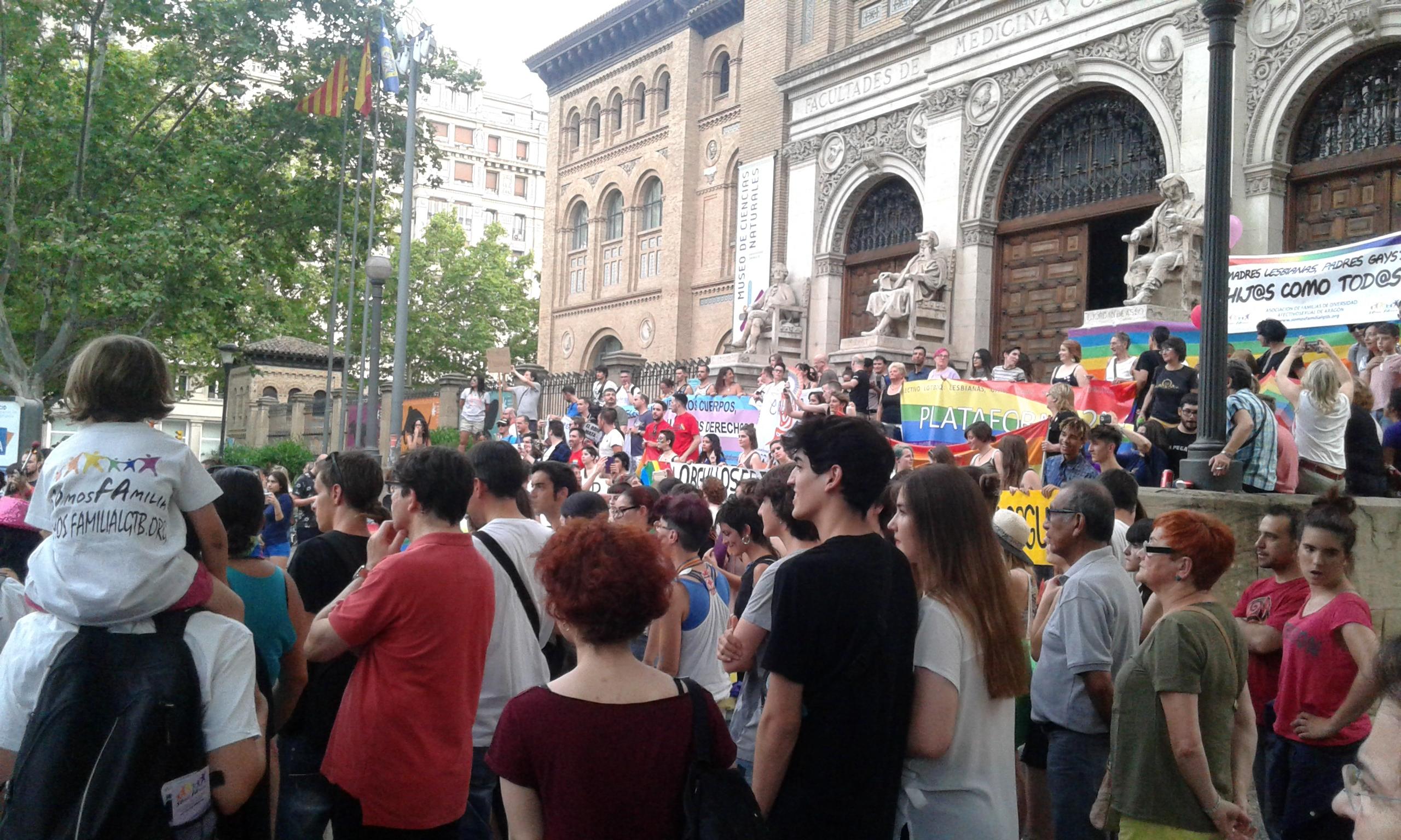 SOFA en el Orgullo de Zaragoza