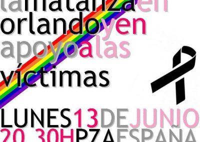 SOFA en la concentración por Orlando 1