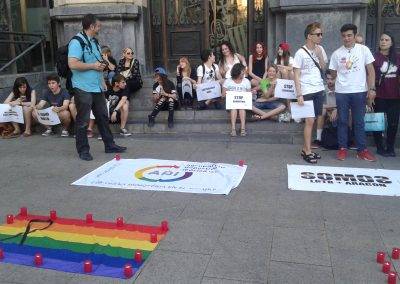 SOFA en la concentración por Orlando 2