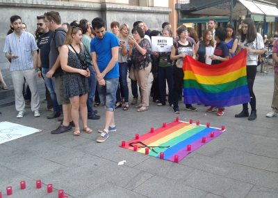 SOFA en la concentración por Orlando 3