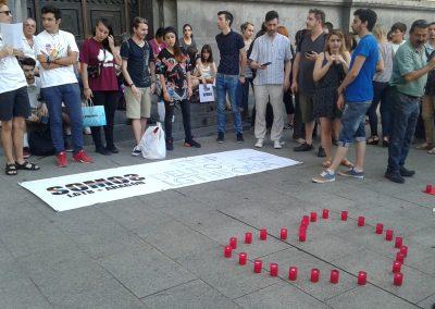 SOFA en la concentración por Orlando 4