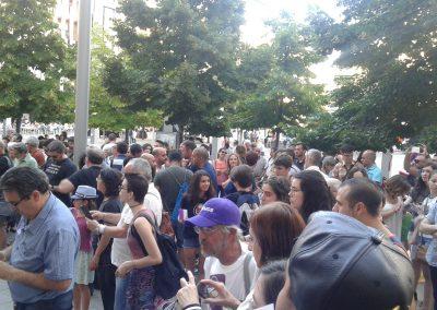 SOFA en la concentración por Orlando 5